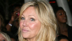 Heather Locklear's sad life: vodka in the morning, staying in bed all day
