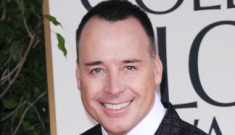 David Furnish sort-of apologizes for his hissy fit directed at Madonna