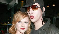 Evan Rachel Wood dumps Marilyn Manson