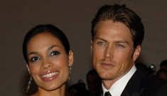 Rosario Dawson and Jason Lewis Split Up