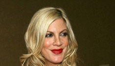 Tori Spelling Adjusts to Being Pregnant