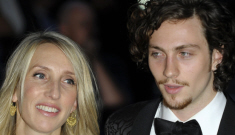 Sam Taylor-Wood, 44, and Aaron Johnson, 21, welcome 2nd daughter, Romy Hero