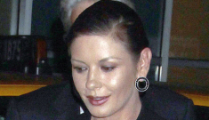 "Catherine Zeta-Jones, ""42″, might be pregnant with a ""miracle baby"""