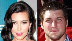 Kim Kardashian tried to set up a date with Tim Tebow, but he said no way