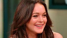 Lindsay Lohan rear-ended
