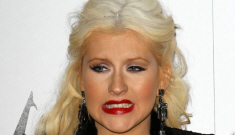 Christina Aguilera embarrasses herself at Etta James's funeral