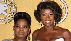 Viola Davis, Octavia Spencer & The Help win big at The SAGs: who worked it?