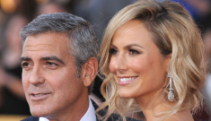 George Clooney reins in Stacy Keibler at the SAGs: improved or busted?