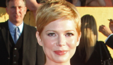 Michelle Williams in asymmetrical Valentino at the SAGs: budget or cute?