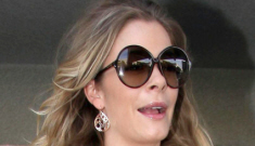 LeAnn Rimes's casual airport look: too summery or simply pretty?