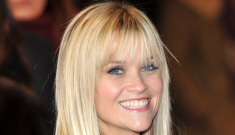 Reese Witherspoon in Louis Vuitton in London: ill-fitting   fug or quite cute?