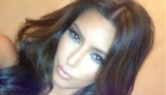 Kim Kardashian tweets bikini photos, claims she wants to start a Bible study group