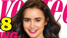 "Lily Collins ""embraces"" her bigger, fuller, unplucked ""quirky"" eyebrows"