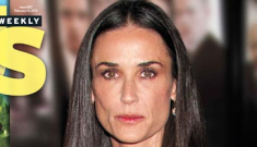 "Demi Moore tried to hook up with Zac Efron, but he thinks she's a ""creepy cougar"""
