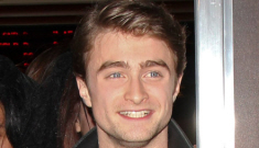 Daniel Radcliffe's leathery premiere look: James Dean cool or Fonzie cheese?