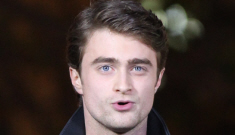 Daniel Radcliffe filmed parts of 'Harry Potter' while still drunk from the night before