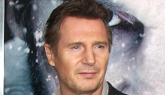 PETA calls for a Liam Neeson boycott after Liam admits to eating wolf stew