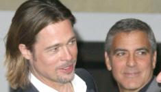 Brad Pitt & George Clooney's bromance dominates the Oscar luncheon