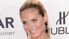Heidi Klum makes her first post-split red carpet appearance: busted or pretty?