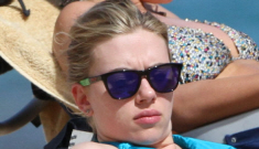 Scarlett Johansson vacations in Hawaii with Nate Naylor, shows off her bikini body