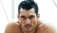 David Gandy finally broke up with his girlfriend of nine months, Mollie King