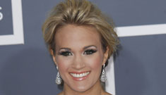 Grammys fashion: Carrie Underwood, Kate Beckinsale, Miranda Lambert and more