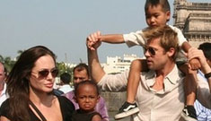 Brangelina gives charity at orphanage, doesn't take a kid in exchange