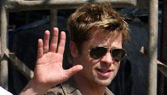 Lots of recent candids of Brad Pitt in Pune
