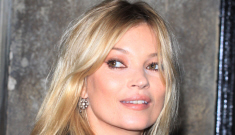 Kate Moss is recovering from a temporary paralysis caused by nerve entrapment