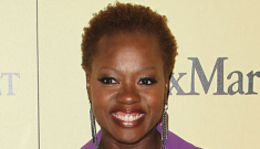 Viola Davis goes natural, wigless at Women In Film event: gorgeous & awesome?