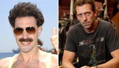Dr. House saves Borat from a beat-down!