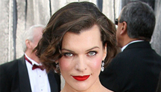Oscar fashion: Did Tina Fey one-up Milla Jovovich in the glamour stakes?
