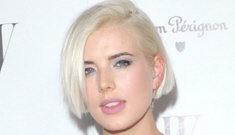 Agyness Deyn finally admits that she's been lying about   her age the whole time