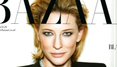 """Cate Blanchett covers Bazaar UK, says she'd play a Bond villainess """"in a heartbeat"""""""