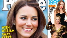 """People Mag: Duchess Kate is """"confident"""" and she has """"grace and charm"""""""