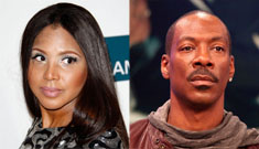 Eddie Murphy on rumors of his romance with Toni  Braxton: we're just friends