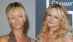 Rihanna to Miranda Lambert: stop talking smack about Chris Brown
