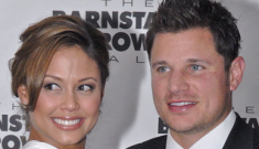 Vanessa Minnillo and Nick Lachey are expecting their   first child
