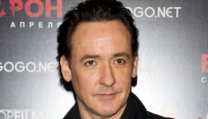 John Cusack promotes 'The Raven' in Russia: could Lloyd Dobler still get it?