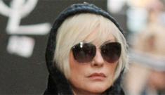 Debbie Harry, 66, gets mistaken for Lindsay Lohan, 25: poor Debbie?