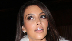Kim Kardashian wears furry, head-to-toe Kanye West in Paris: busted or cute?