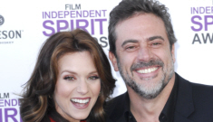Is Jeffrey Dean Morgan engaged to his super-secret baby-mama Hilarie Burton?