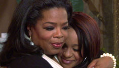 "Bobbi Kristina talks to Oprah about her mom: ""I can always feel her with me."""