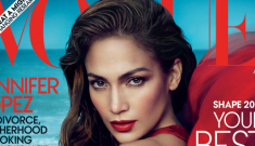 "Jennifer Lopez covers Vogue: ""Of course I have good self-esteem"""