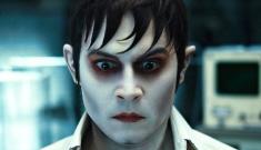 """Johnny Depp & Eva Green   do high camp in the 'Dark Shadows' trailer"" links"