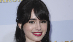 Lily Colins wears D&G at the 'Mirror, Mirror' premiere: cute or busted?