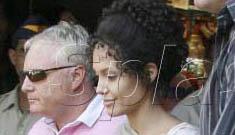 Jolie-Pitts flee India amid racist bodyguard scandal