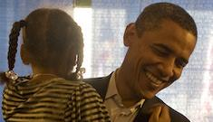 Barack Obama says he's a cool dad