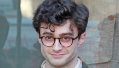 Daniel Radcliffe in character as a young Allen Ginsberg: does he pull it off?