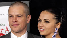 """Matt Damon: """"My wife is my soul mate. I can't imagine being without her."""""""